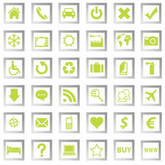 set green icons 1
