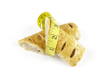 Sausage Roll and Tape Measure