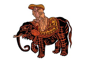 江戸の象使い