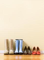 different  women's footware