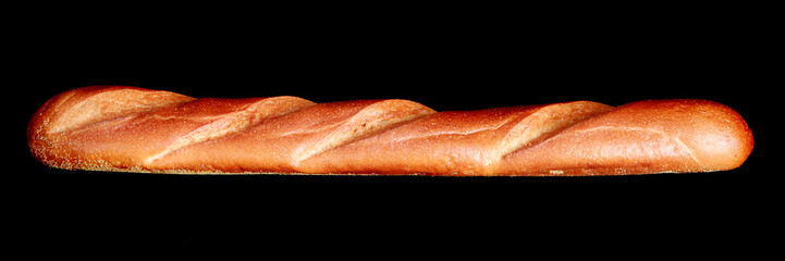 French baguette fresh from the oven