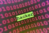 hacker attack poster