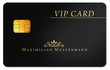 black vip card, smartcard