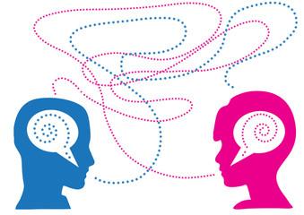 incomunicabilità di coppia a colori