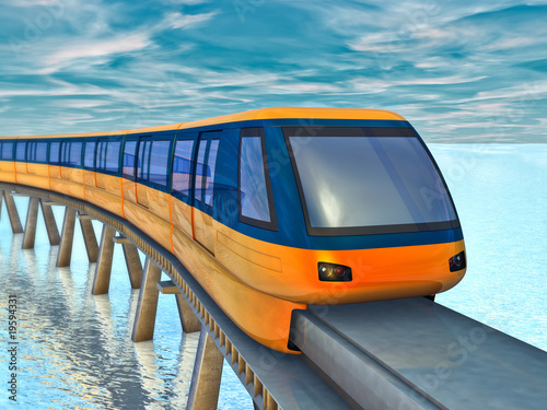monorail train