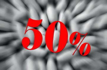 50% reduction