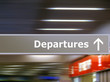 Tourist info signage departures