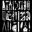vector icons of instruments