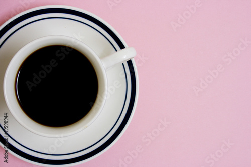 Coffee, top view