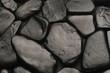 Sfondo di pietre nere