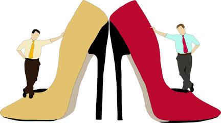 Gli uomini e le scarpe