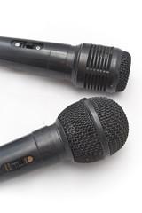 Deux microphones