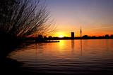 Sonnenuntergang an der Außenalster - 19611596