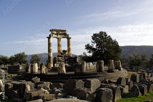 The Tholos of Athena Pronaia at Delphi, Central Greece