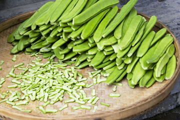 Sword Beans Isolated