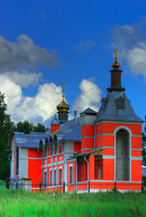 Rural temple