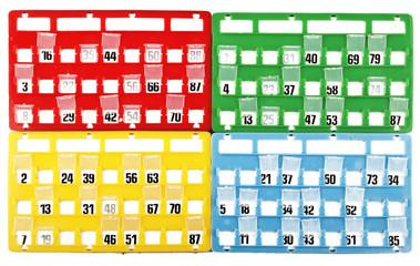 Cartella per Bingo 5 01 10