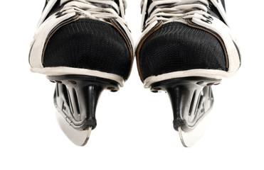 Skates isolated on white background