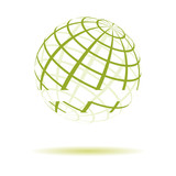 green striped globe 2