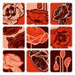 roleta: Poppy squares