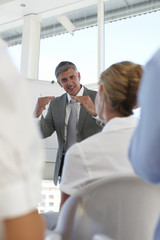 Presentation at a workshop