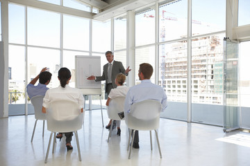 Presenting company results