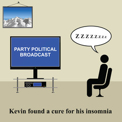 Kevin found a cure for his insomnia