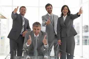 OK business team