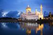 Постер, плакат: Sultan Omar Ali Saifuddien Mosque Brunei