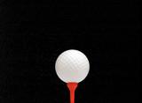 Galaxy golf poster