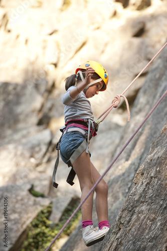 Enfant en cole d 39 escalade ar ches savoie france by - Prise escalade enfant ...