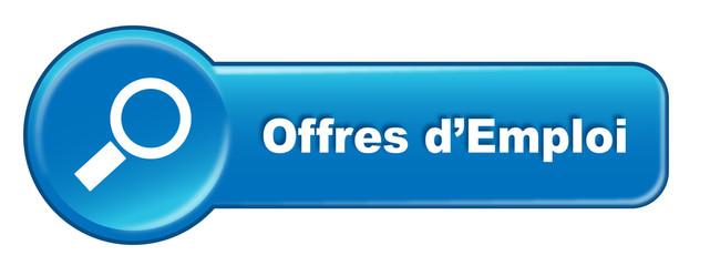 """Bouton web """"Offres d'Emploi"""" (recherche emploi agence)"""