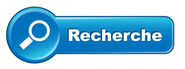 Bouton RECHERCHE (Internet Web Rechercher Loupe Symbole Moteur)