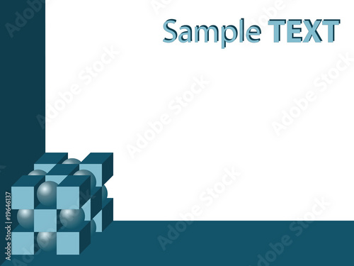 abstract geometric background with copy space
