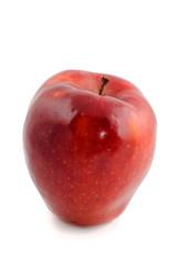 big red ripe apple