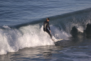 Catching a wave