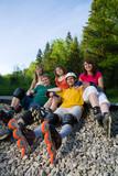 Fototapete Sportarten - Skating - Roller / Skateboards /  Rollschuhe / Segway