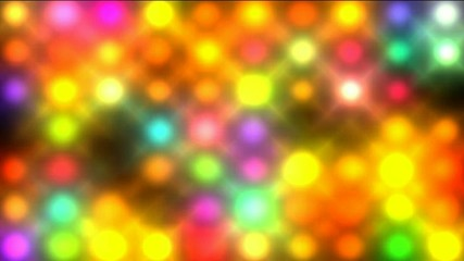 Color circle matrix, disco light