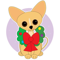 Chihuahua Wreath