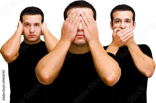Les 3 singes de la sagesse 3