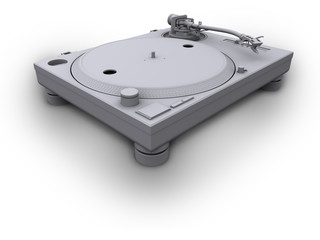 turntable 1210 white