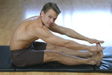 Hamstrings stretch poster