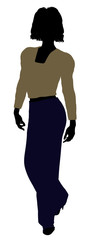 Female Office Illustration Silhouette