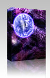Cosmic space planet box package poster