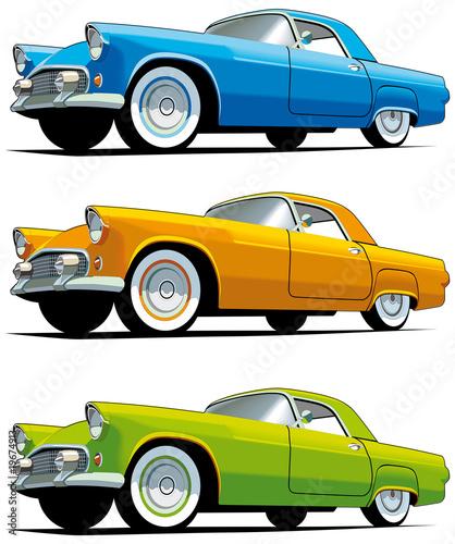 American old-fashioned car