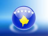 Bandeira do Kosovo poster