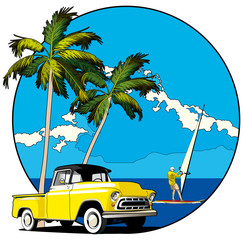 Hawaiian vignette