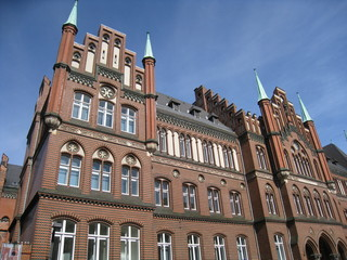 façade d'une maison à Lübeck