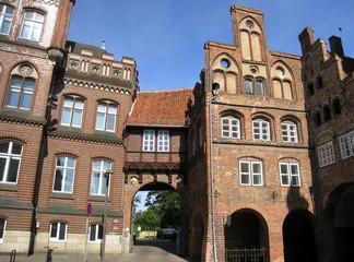 maison ancienne à Lübeck