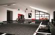 Dachboden Innenaufnahme 3d